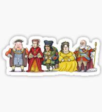 British Monarchs Sticker