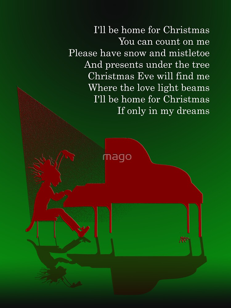 I'll be home for Christmas - C.Card by mago