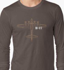 B-17 Bomber Long Sleeve T-Shirt