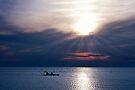Ocracoke Kayakers by Jan Cartwright