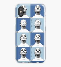 Mahogany Warhol Blue iPhone Case/Skin