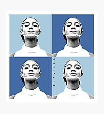 Mahogany Warhol Blue Photographic Print