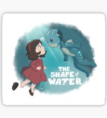 Ponyo / The Shape of Water Sticker
