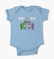 Toast To Us T-Rex Dinosaur Wedding Funny Wine Kids Clothes