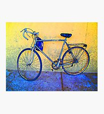 Cousin's Bicycle Photographic Print