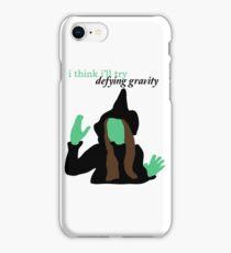 Elphaba Wicked: Defying Gravity iPhone Case/Skin