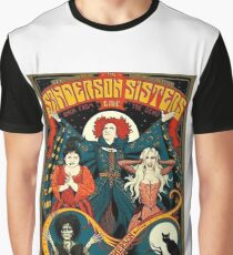 Sanderson Sisters Tour Poster T-Shirt Graphic T-Shirt
