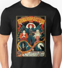 Sanderson Schwestern Tour Poster T-Shirt Slim Fit T-Shirt