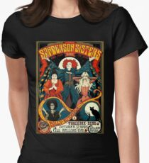 Sanderson Sisters Tour Poster T-Shirt Women's Fitted T-Shirt