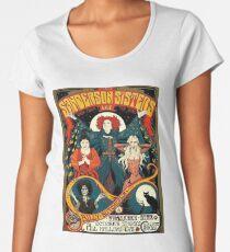 Sanderson Sisters Tour Poster T-Shirt Women's Premium T-Shirt