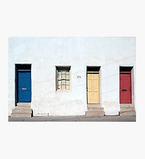 Primary Colors Photographic Print