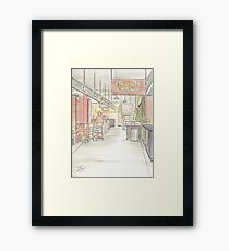 Midtown Global Market, Minneapolis Minnesota Framed Print