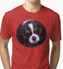 Back off Tri-blend T-Shirt