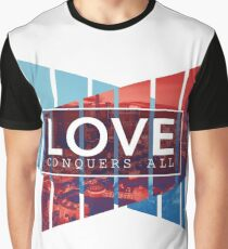 Love Conquers All Graphic T-Shirt