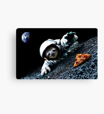 Slothstronaut Canvas Print