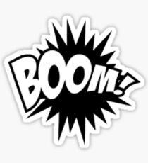 Comic Book Boom! Sticker