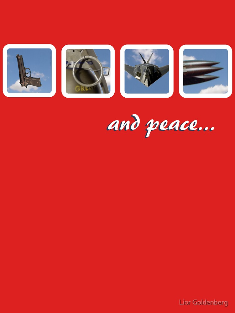 LOVE and peace by liorg