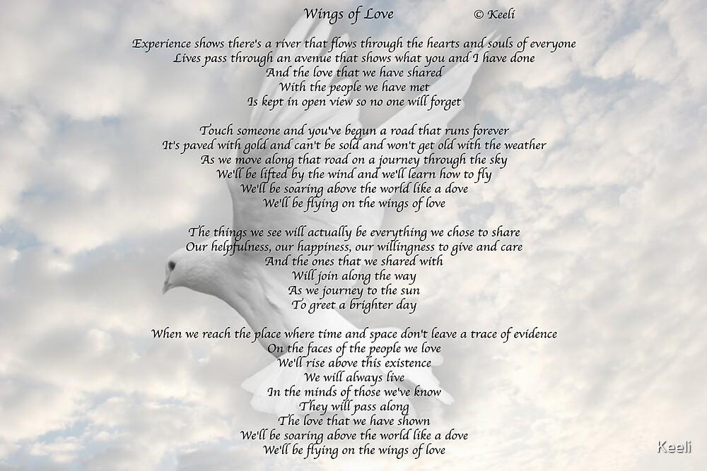 Wings of Love                     Lyrics © Keeli by Keeli