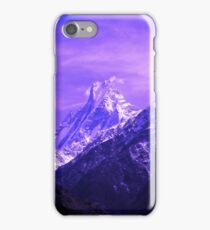 Sacred Mountain, Himalayas, Nepal iPhone Case/Skin