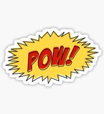 Comic Book Pow! (Yellow Edition) Sticker