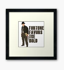 Fortune Favors the Bold Framed Print