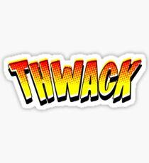 Comic Book Thwack! (Yellow Edition) Sticker