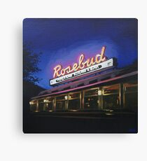 Rosebud Diner Canvas Print