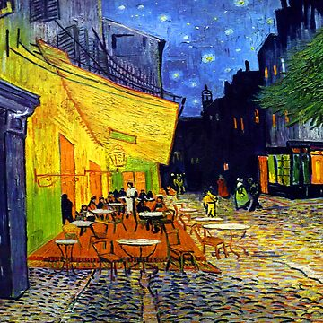 Cafe Terrace at Night - Van Gogh by NewNomads