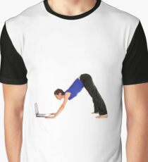 dOWNWARD dOGGO Graphic T-Shirt