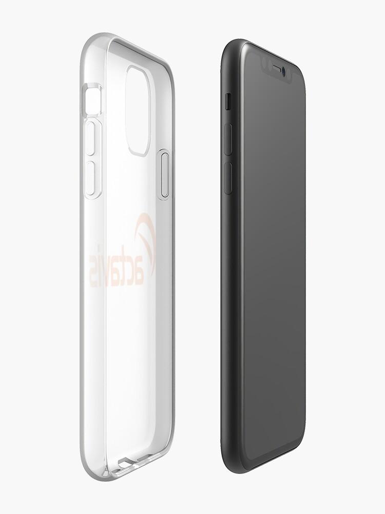 Coque iPhone «Actavis maigre», par ialeggio