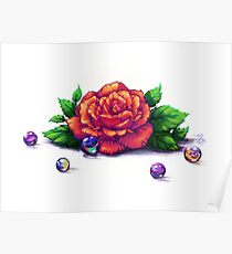 Remember the Roses and Marbles Poster
