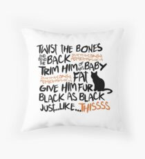 Binx Spell Throw Pillow