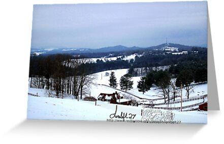 snow magic by LoreLeft27