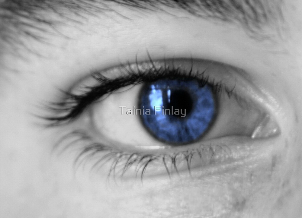 Blue Eye by Tainia Finlay