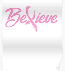 Breast Cancer | Breast Cancer Ribbon | Breast Cancer Awarness | Breast Cancer Month Poster