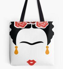 Frida Khalo face Tote Bag