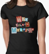 Who Killed Markiplier? Women's Fitted T-Shirt