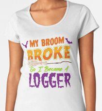 Logger Haloween funnyshirt Women's Premium T-Shirt