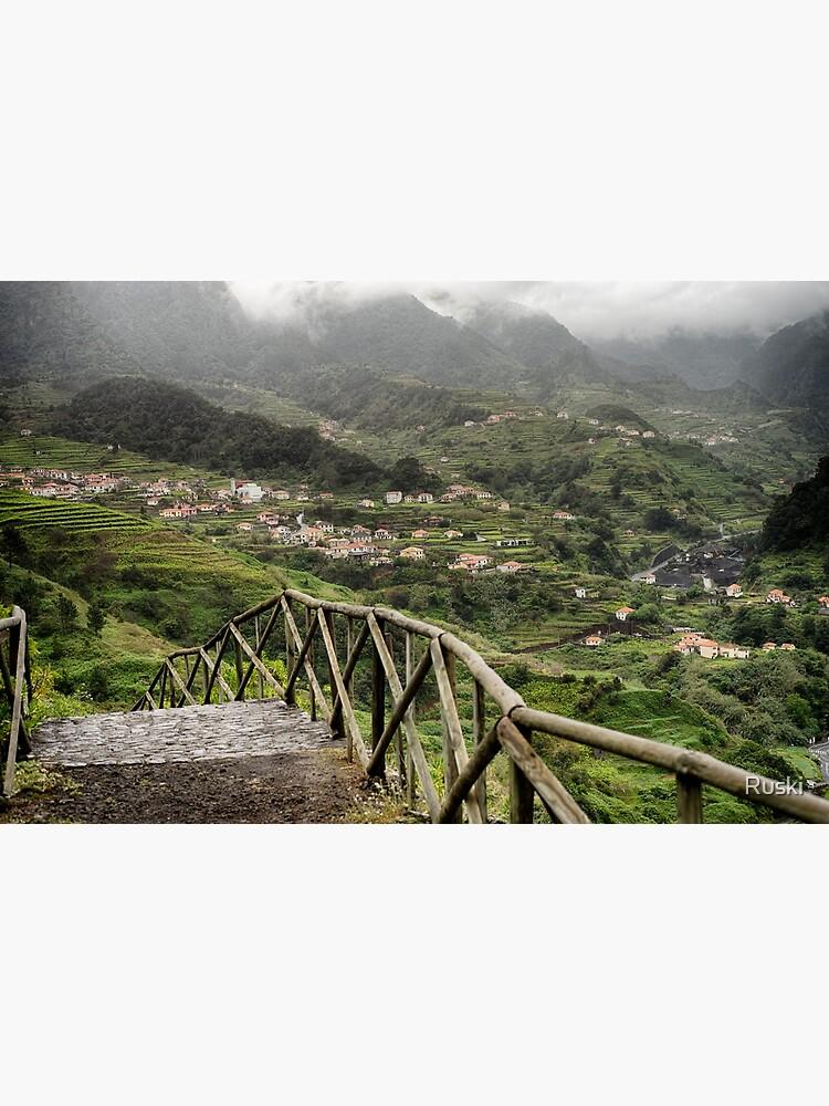Vale de São Vicente seen from Caminho da Capelinha by Ruski