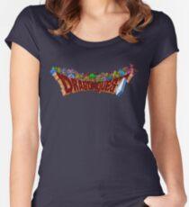 Dragon Quest (SNES) Enemies Women's Fitted Scoop T-Shirt