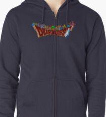 Dragon Quest (SNES) Enemies Zipped Hoodie