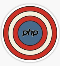 PHP superhero - Coder life Sticker
