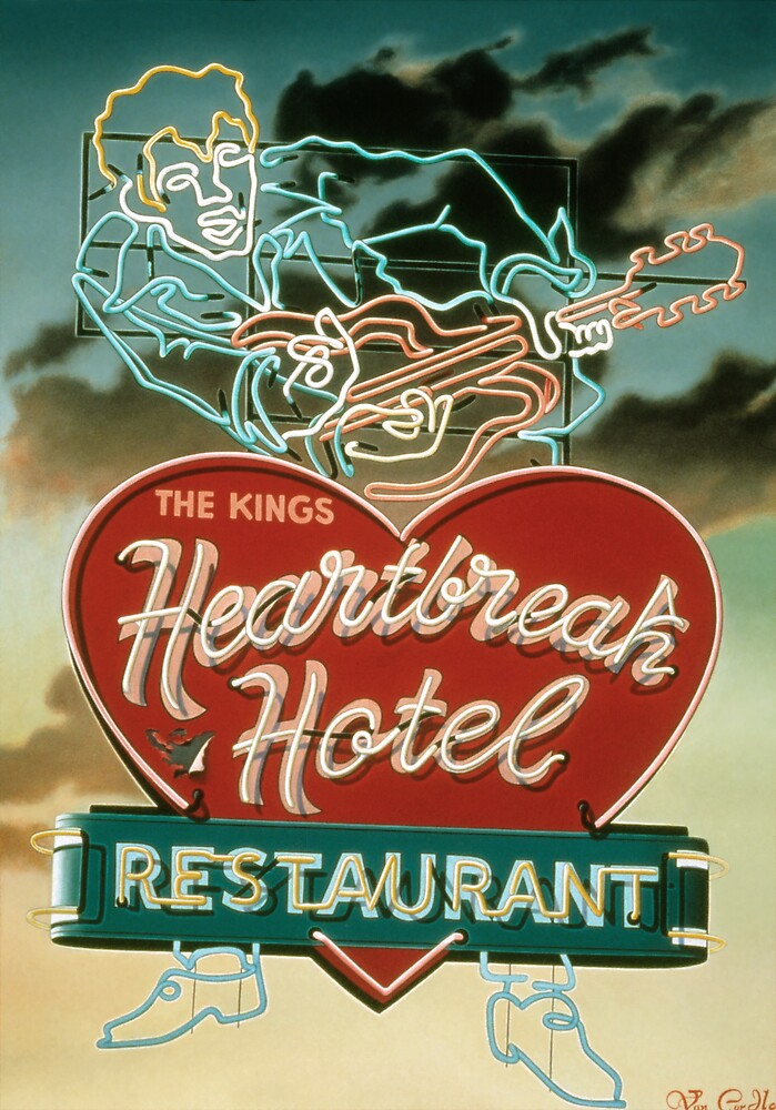 HeartBreak Hotel by Van Cordle