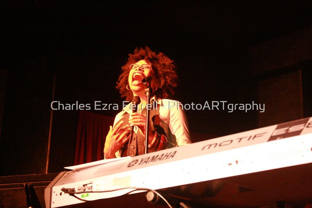 Rachel Ferrell - Live at Arturo's by Charles Ezra Ferrell - PhotoARTgraphy