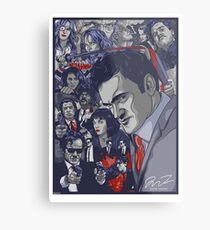 Quentin Tarantino Filmography Metal Print