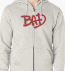 BAD - Michael Jackson Zipped Hoodie