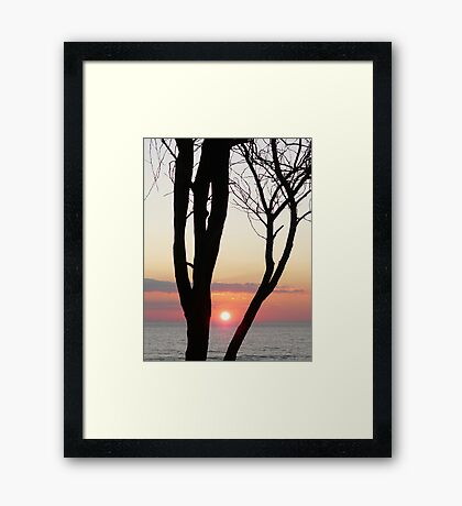 Another sunset... Framed Print