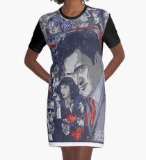 Quentin Tarantino Filmography Graphic T-Shirt Dress