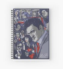 Quentin Tarantino Filmography Spiral Notebook