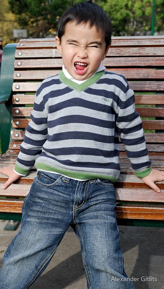 Crazy Boy by Alexander Gitlits